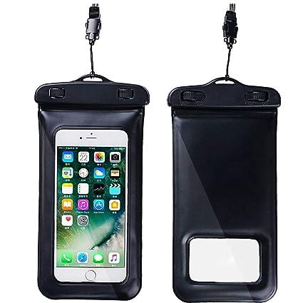 outlet store 89da2 3c2a3 Amazon.com: YEFFO The Built-in Sponge Can Float PVC Waterproof Phone ...