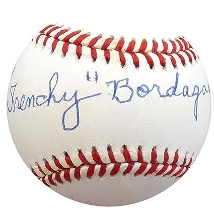 8ff3d3fb705 Frenchy Bordagary Signed Official AL Baseball Brooklyn Dodgers Memorabilia  - Beckett Authentic