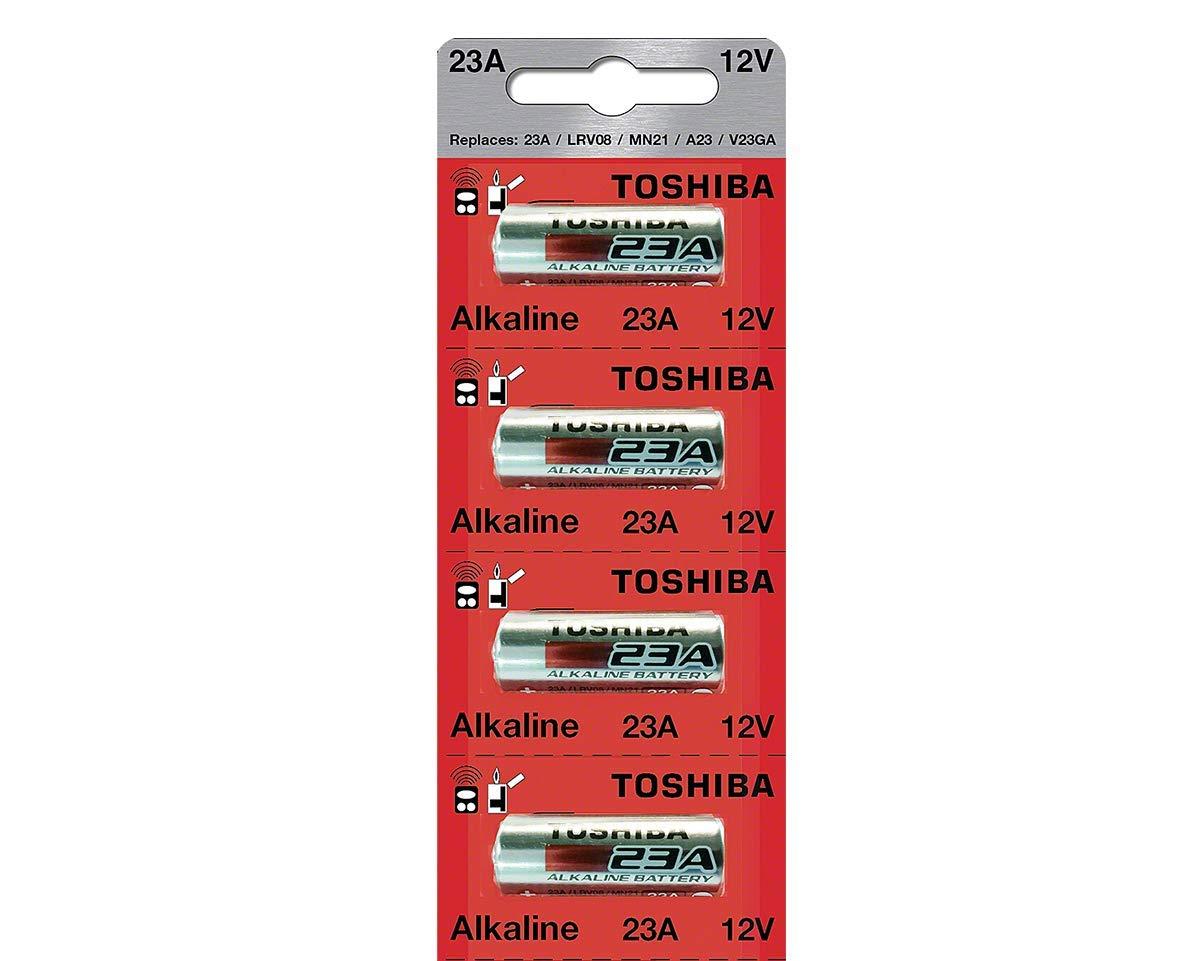 Toshiba 23A A23S A23 GP23AE MN21 23GA 12 Volt Battery (4 Batteries) 4330198955