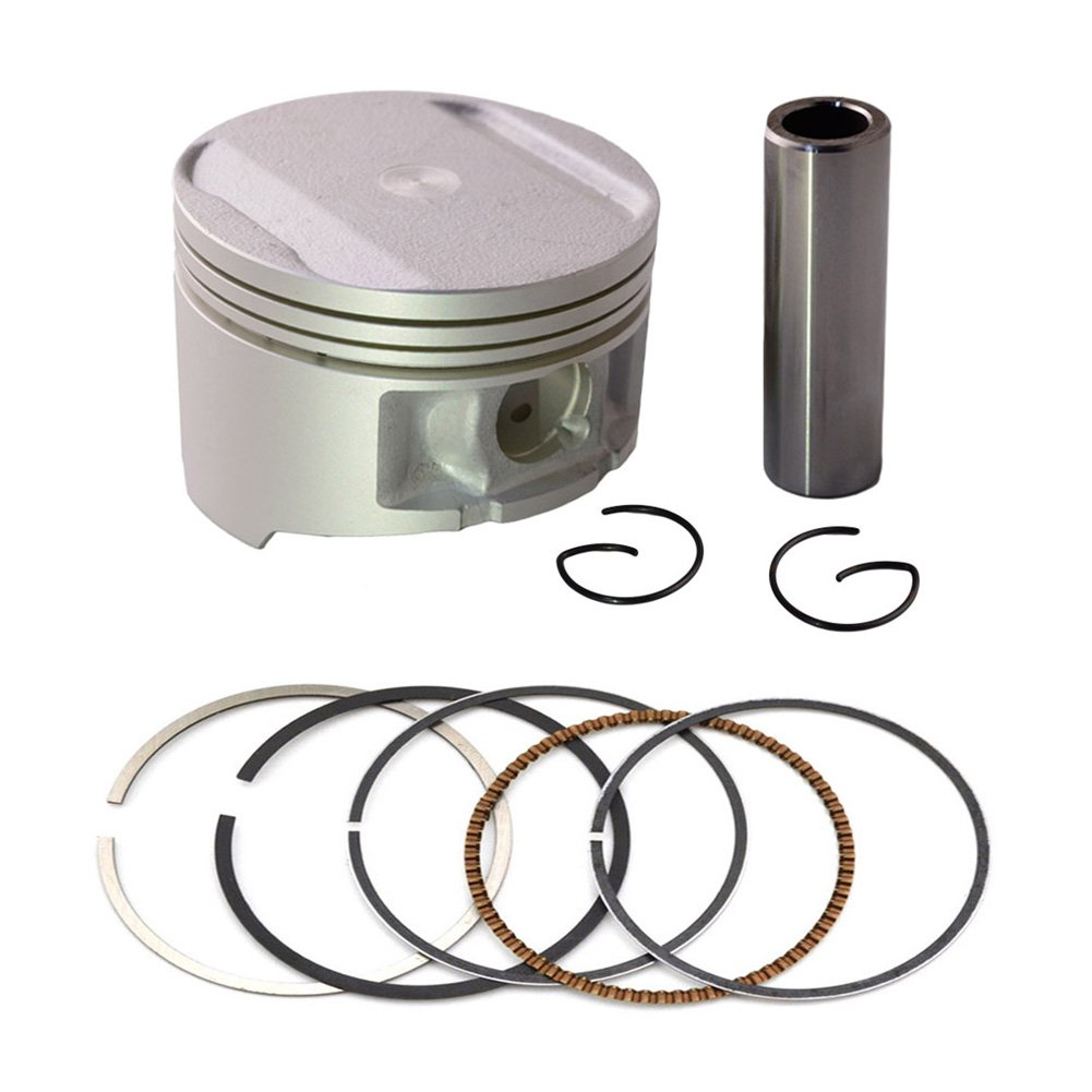 AHL -Motorbike Engine Parts Pistons & Rings Pin Clips Kit for Yamaha TTR250 TTR 250 Oversize Bore +100 74mm