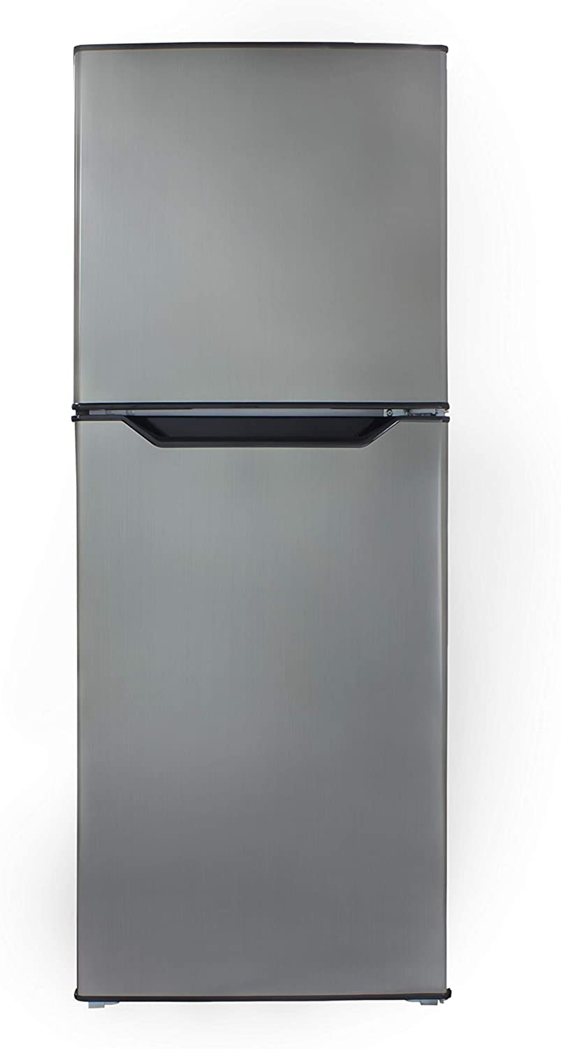 Danby DFF070B1BSLDB-6 7.0 Cubic Foot Mid-Size Refrigerator-Black Stainless Look