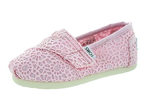 super popular 02fb0 a9f08 TOMS Baby Mädchen Classic 10002285 Schuhe, Hellrosa ...