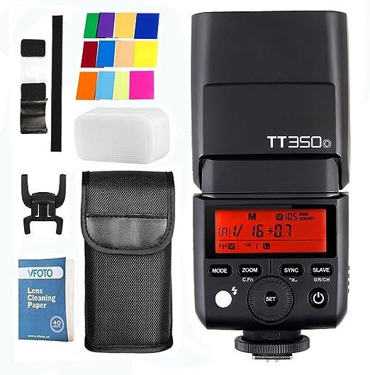 Godox Mini Tt350o 2 4g Hss 1 8000s I Ttl Gn Camera Camera Photo