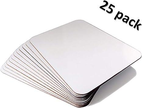 Amazon.com: Pizarras de borrado en seco – Pack de 25 ...