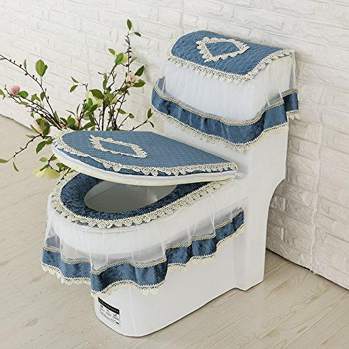 D GH-Three piece toilet toilet cushion pad toilet toilet seat toilet waterproof pad general u,I