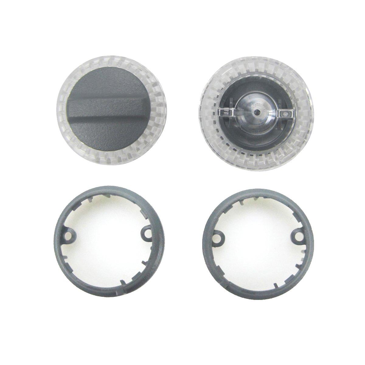 Kismaple Copri lampada LED + Set di anelli di base Sostituzione riparazione di ricambio Accessori per kit di ricambi per DJI Spark Drone