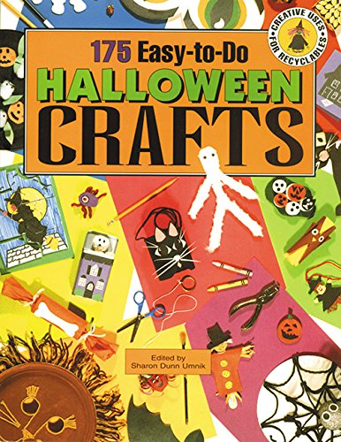 175 Easy-to-Do Halloween Crafts: Creative Uses for Recyclables -