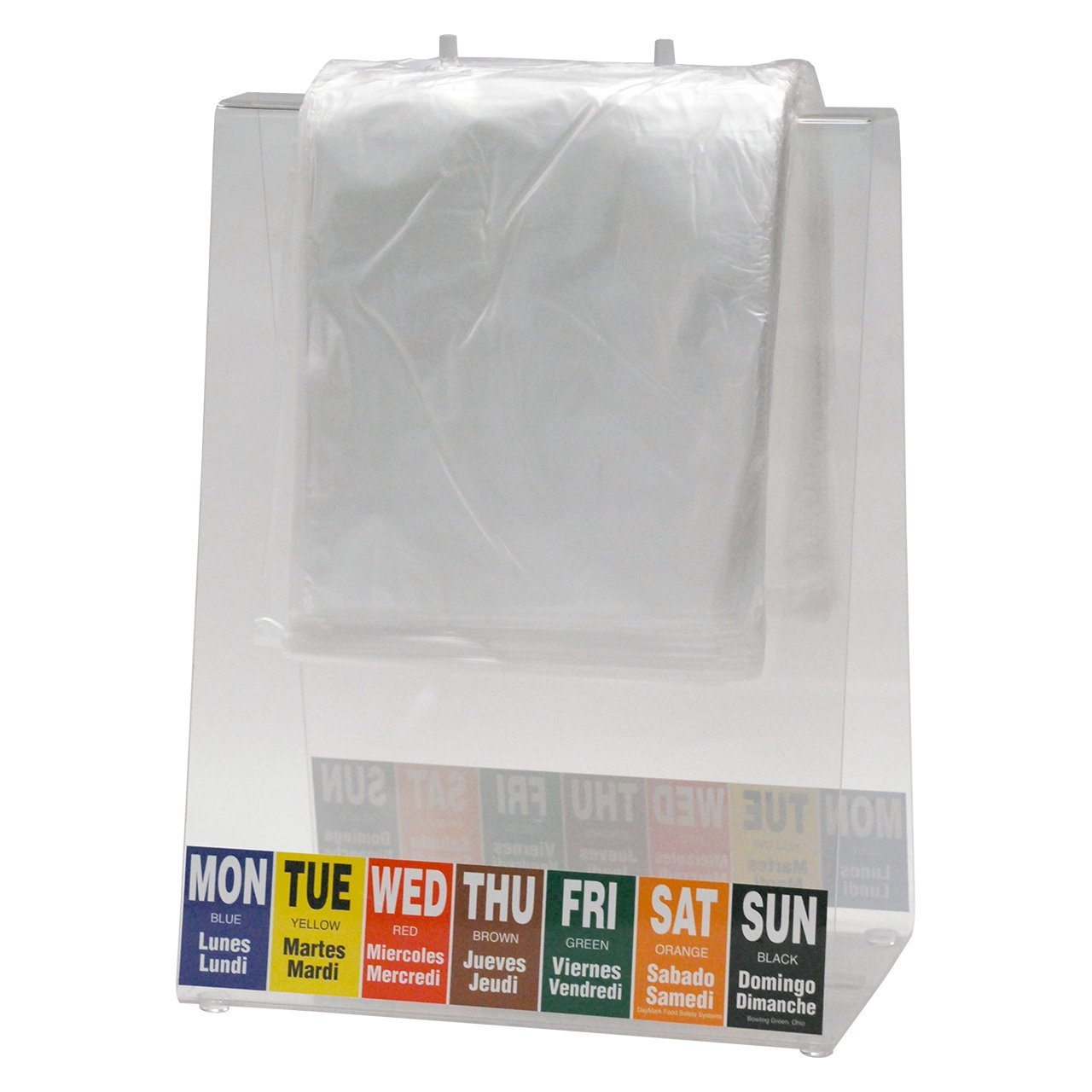 DayMark 6.5'' x 7'' Clear Portion Bag (2,000 per Box) by DayMark Safety Systems (Image #2)