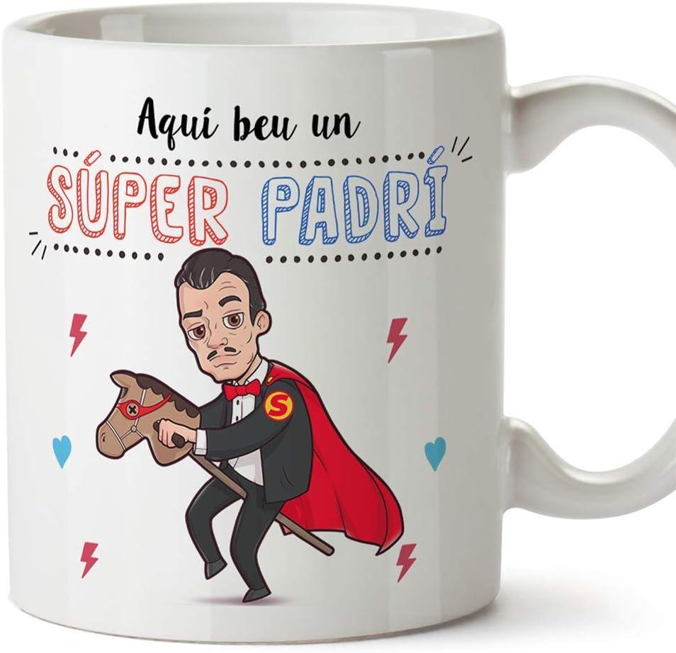 MUGFFINS Taza Padrino (En Catalán) -
