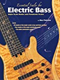 img - for Essential Scales for Electric Bass: Major Scale Modes and Pentatonic Scales book / textbook / text book