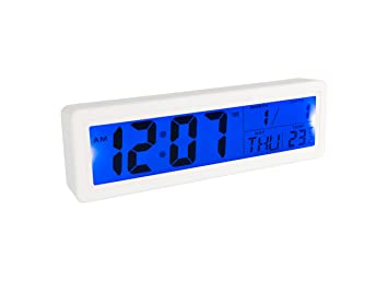 Fisura CL0828 Reloj Despertador Digital Grande, Pantalla LCD ...
