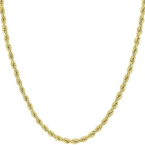 611eb7b9d131 Cadena de Oro 14K Amarillo o Oro Blanco macizo de 2mm Corte de diamante  Realmente Fuerte ...