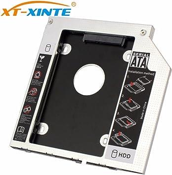 XT-XINTE Interfaz SATA 3.0 de 9 mm 2.5 Pulgadas Soporte de Disco ...