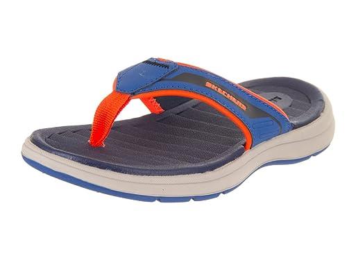 5074e499516b Skechers Kids Boy s Sun Spurt - Beach Season (Little Kid Big Kid) Blue
