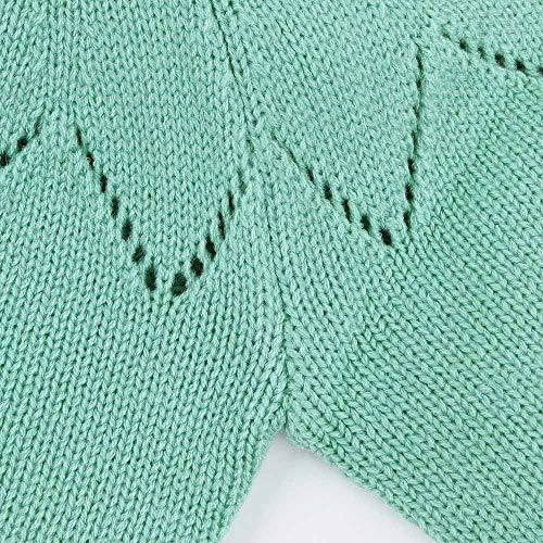 3385aea01fe2c 赤ちゃん セーターカーディガン 子供 ニットセーター トップ 円襟 ベビー服 子供服 キッズ服 無地 ボタン