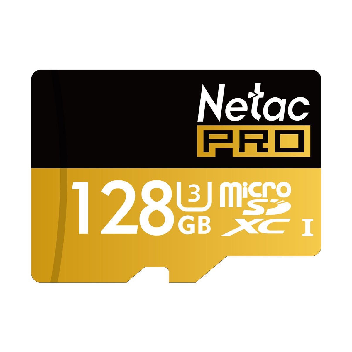 Netac 128GB Micro SD Card UHS I U3 Pro High Speed Micro SDXC TF Memory Card with Adapter