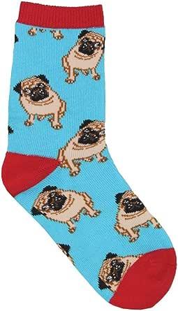 Jia Li Funny Pug Unisex Funny Novelty Casual Soft Cotton Socks