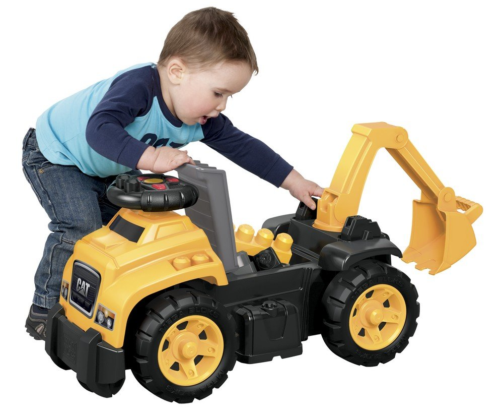 buy mega cat 3 in 1 excavator ride on multi color online at low