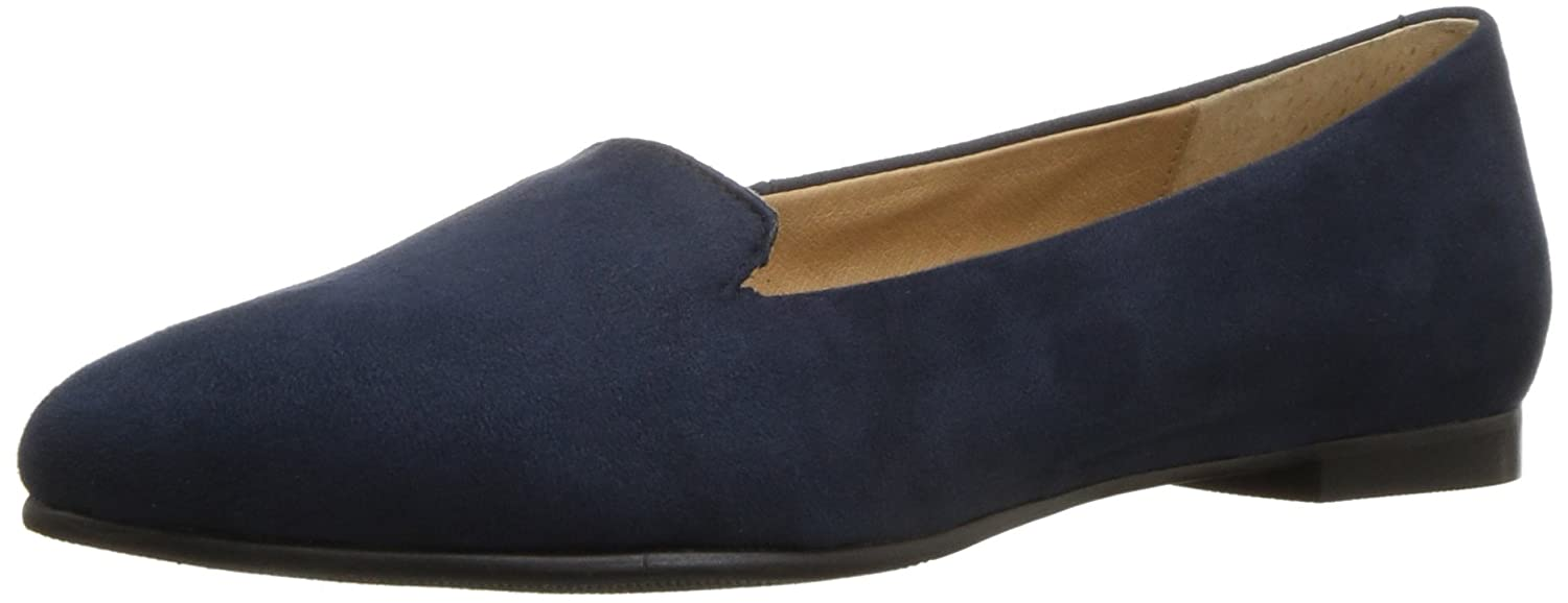Trotters Women's Harlowe Pointed Toe Flat B01N2W50R5 9 N US|Navy