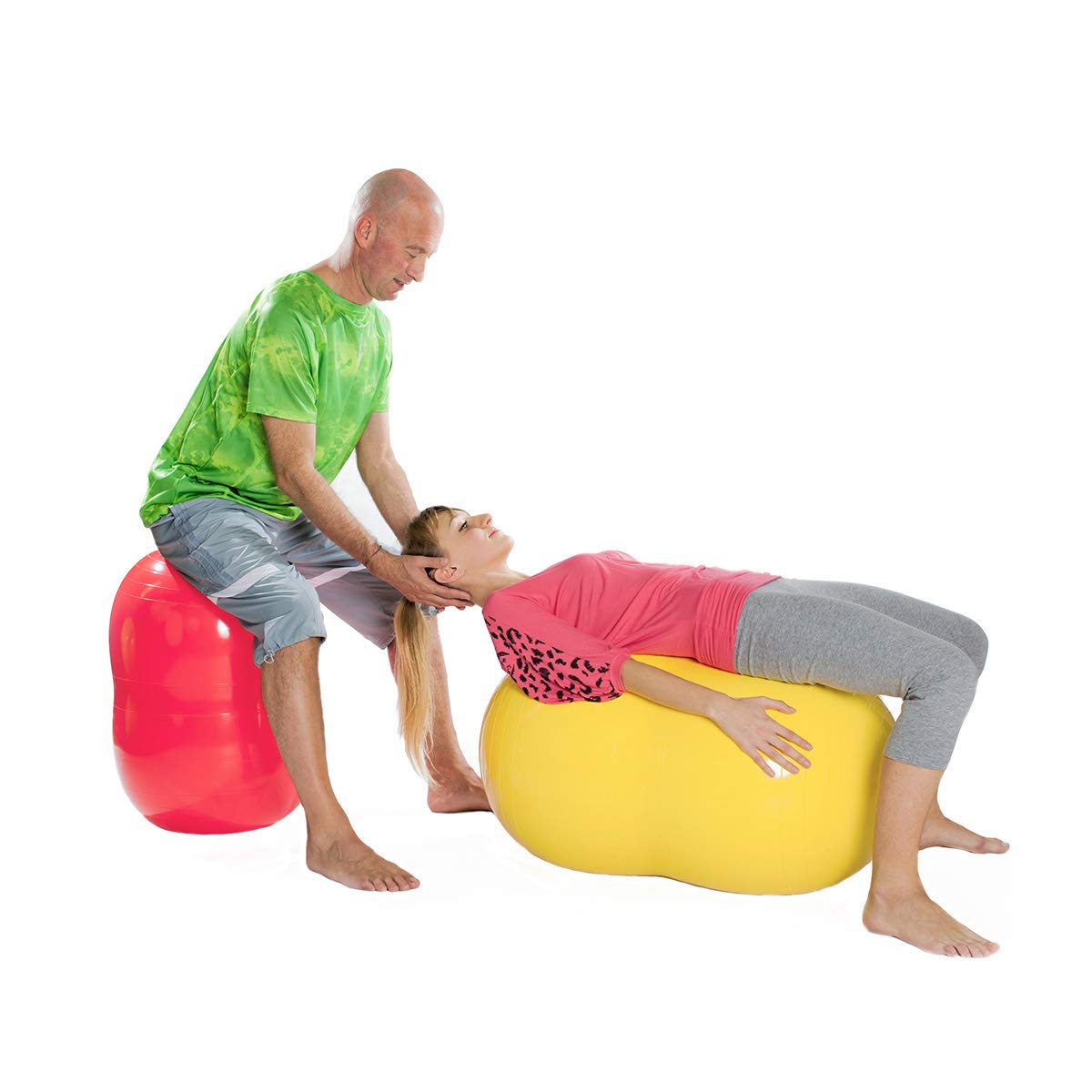 Gymnic Physio Roll Exercise Ball - Red by Gymnic (Image #4)