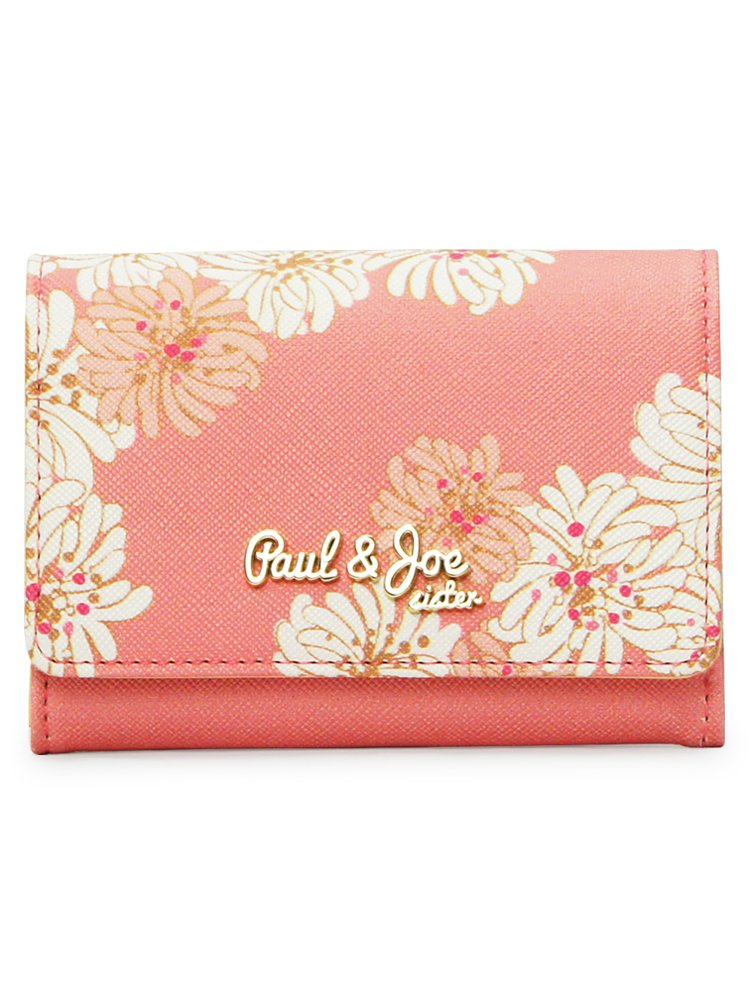 (ポールアンドジョーシスター) PAUL and JOE SISTER PAUL&JOE SISTER カードケース PJS-W054 クリザンテーム B07CW9PSW7 Vivid Pink Vivid Pink