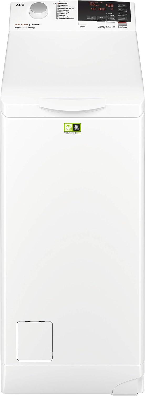 AEG L6TBA664 Waschmaschine Toplader / Energiesparender Waschvollautomat A+++ / Mit ProSense- -