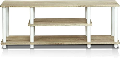 Furinno Turn-N-Tube 3-Tier Entertainment TV Stand