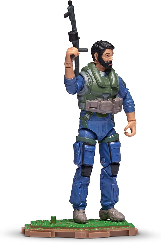 "Jazwares Halo Infinite World of Halo UNSC Marine 3.75/"" Action Figure w// Code"