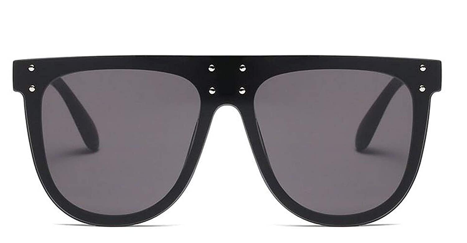 Amazon.com: Flat Top Sun Glasses Oversized Goggles Mens ...