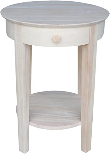 International Concepts Accent Table, Unfinished