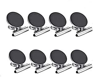 Swity Home Magnetic Clips Heavy Duty Fridge Magnets Hook Clips 8 Pack Strong Scratch-Free Refrigerator Magnet Clips for House Office School Use Hanging Home Decoration Photo Displays