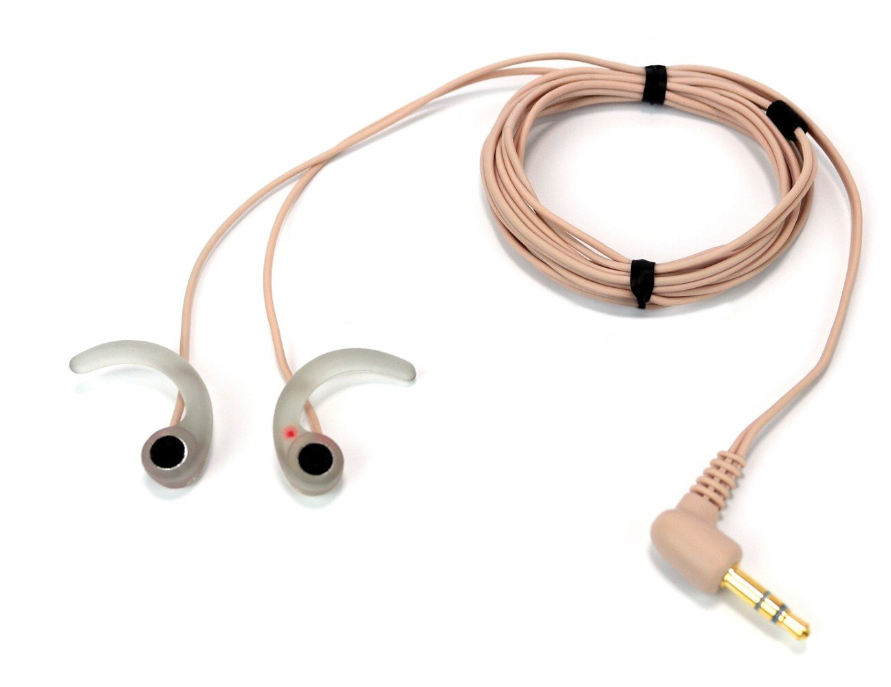 SP-TFB-2-13097 - High Sensitivity, Low-Noise In-Ear Binaurals microphones w/Windscreens, Beige cables by Sound Professionals (Image #1)
