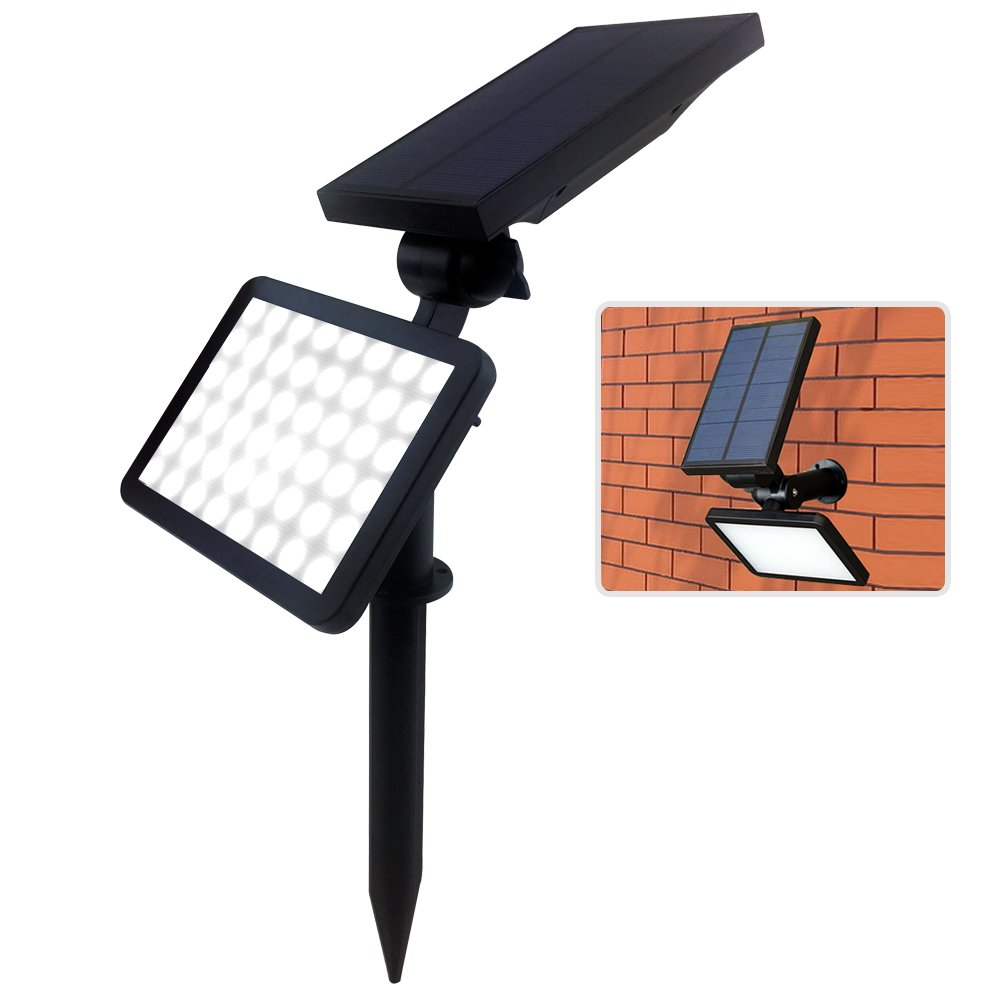 farsic 48 led solar lights spotlight outdoor