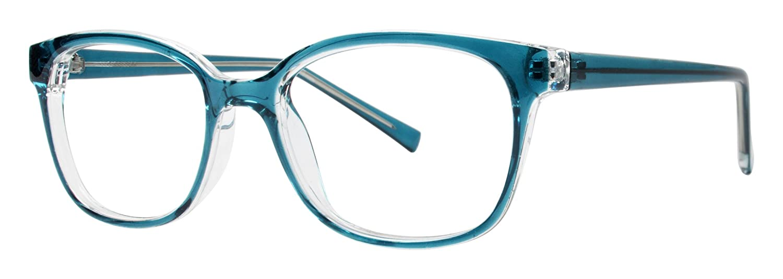 1b318d05bc Amazon.com  Pleasure Women s Eyeglasses - Modern Collection Frames - Black  52-18-140  Clothing