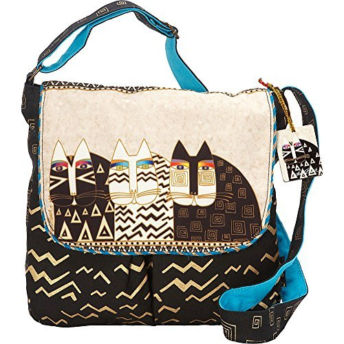 Laurel Burch Wild Cats Crossbody (Multi)