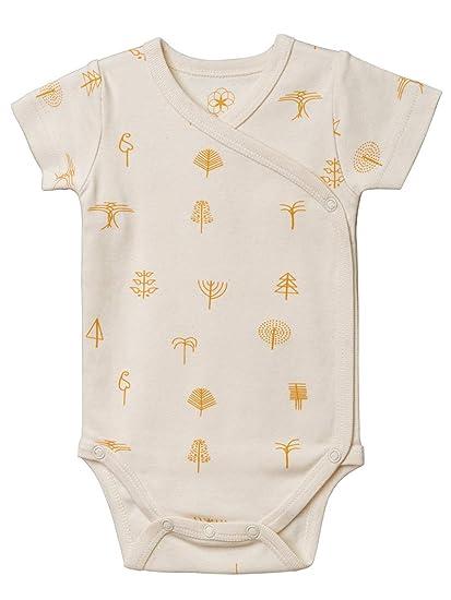 GOTS Zertifiziert Lebensfreude Organic by Feldman Unisex Baby Body Kurzarm Wickelbody aus Bio Baumwolle