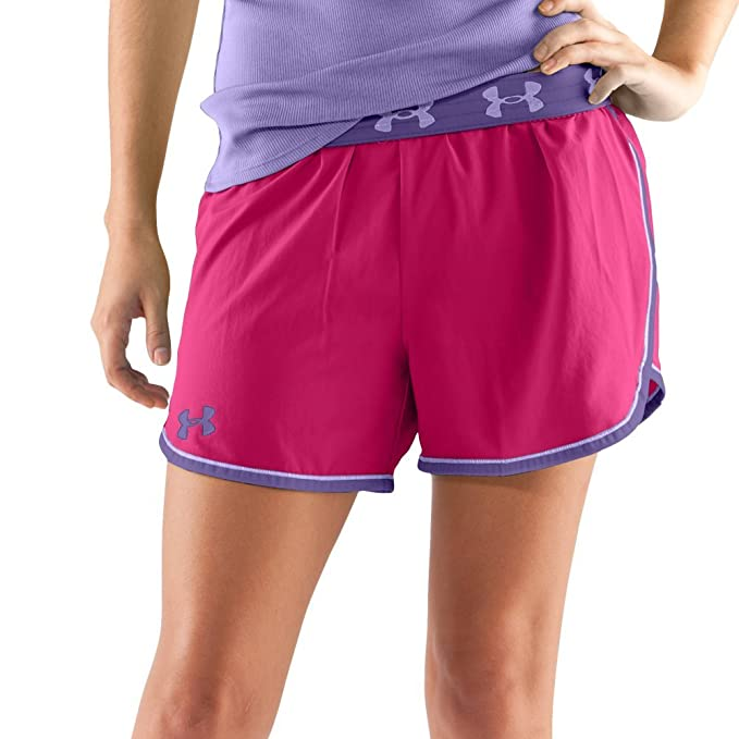 """04f51ac7d5c0 Image Unavailable. Image not available for. Color: Women's Armour 4""""  Shorts Bottoms by Under Armour"""