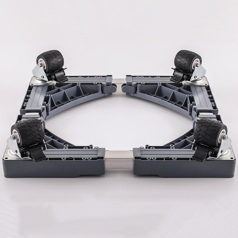 2019春の新作 XRXY ローラー洗濯機ベース (色/可動器具ブラケット/冷蔵庫強化ステンレススチールフレーム D) (色 : XRXY D) D B07KT1JK71, 神戸ミニアチュール:c6eae2a3 --- arianechie.dominiotemporario.com