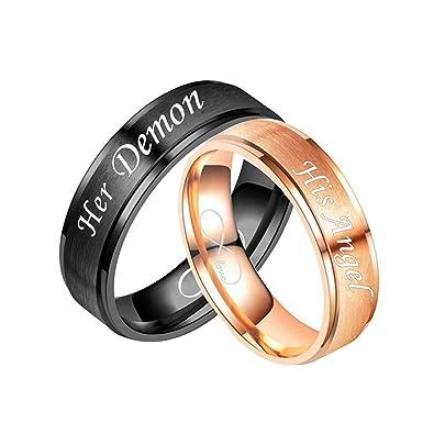 Daesar 2 X Hochzeit Ringe Edelstahl Ringe Fur Paar Mit Gravur His