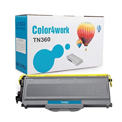 Color4work Compatible Brother TN360 Toner Cartridge TN330 TN-360 High Yield Toner Black for Brother DCP-7040 DCP-7030 HL-2140 MFC-7840W MFC-7440N ...