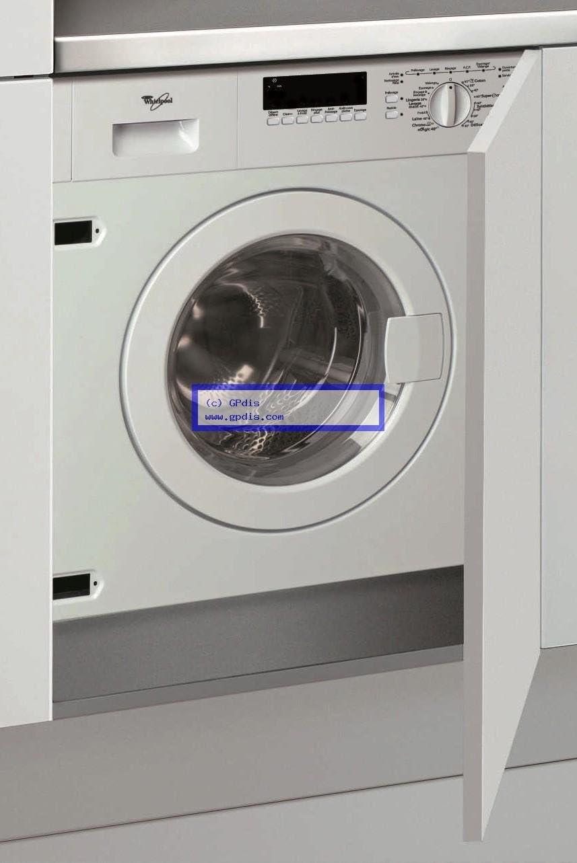 Whirlpool AWOD 070 Integrado Carga frontal 7kg 1400RPM A++ Blanco ...
