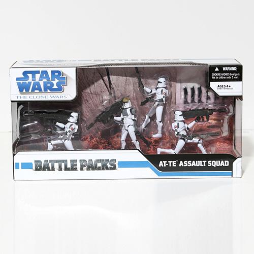 - Hasbro Star Wars Clone Wars - at-TE Assault Squad