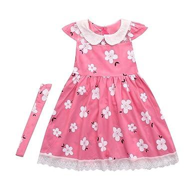 Sommer Kleid Partykleid Babykleidung Baby Junge Mädchen Print ...