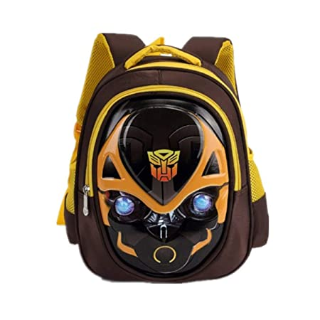 Bumblebee Transformers Captain America Childrens School Backpack Teens Backpacks For Boys And Girls School Bags,CaptainAmerica(Blue)-302612cm