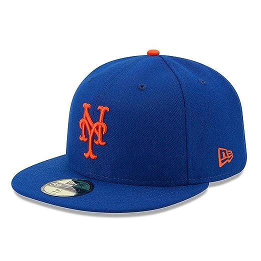 a974e9c51ee Amazon.com  New Era 59FIFTY New York Mets MLB 2017 Authentic ...