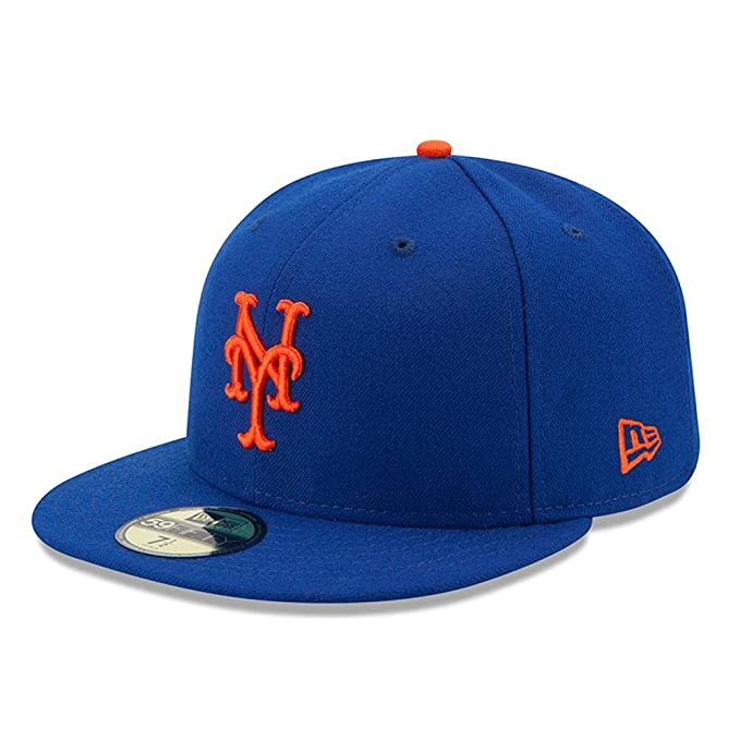 23885ccc775 New Era New York Mets Cap NY Royal 5950 Basic Fitted Team Basecap 6 7 8-8   Amazon.it  Sport e tempo libero