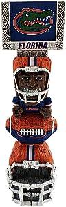 "Elite Fan Shop NCAA Tiki Totem Figurine 14.5"""