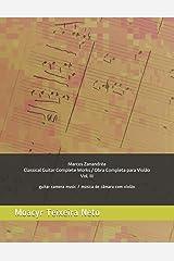 Marcos Zanandréa: Obra Completa para Violão - Vol. 3: Música de Câmara com Violão (Portuguese Edition) Paperback