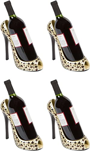 Hilarious Home High Heel Wine Bottle Holder