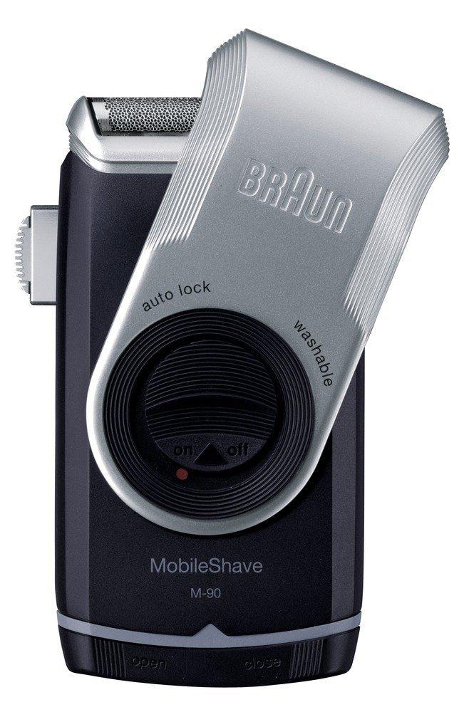 Braun MobileShave M-90 - Afeitadora eléctrica portátil 4210201649946